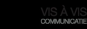 Logo design-VIS-À-VIS-COMMUNICATIE-by-Bitterblond-Creative-communication-